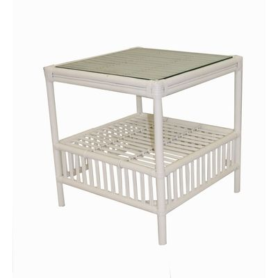 Homestead side table - white
