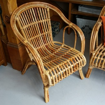 Cane Single Chair