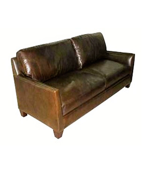 Kings Park Leather Sofa