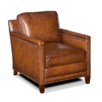 Hennessy Leather Chair