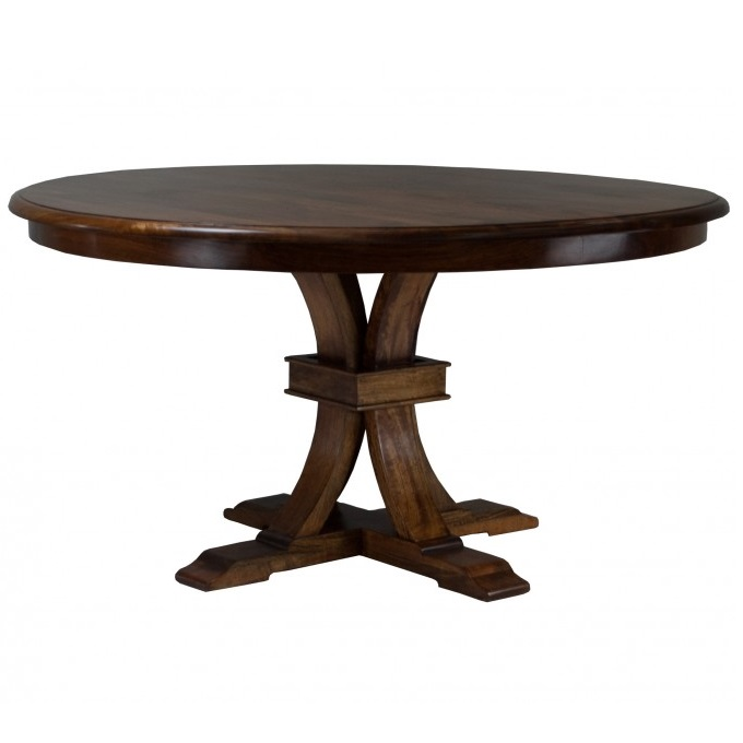 Florence Round Table - Distressed Teak
