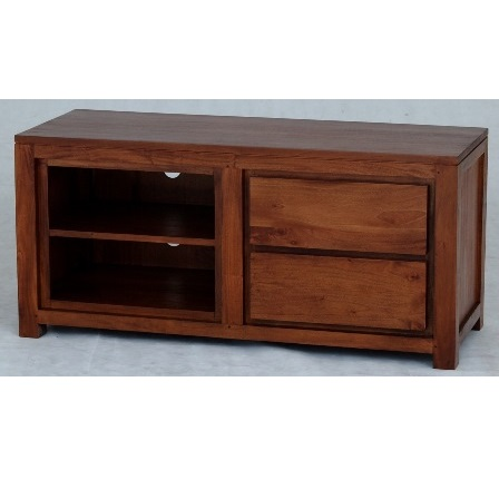 Cityscape 2 Drawer Short TV Unit