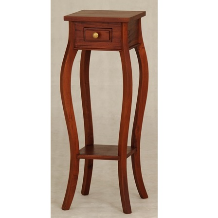 Cityscape Cabriole Telephone table / Plant stand