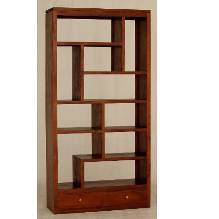 Cityscape 2 Drawers Bookcase