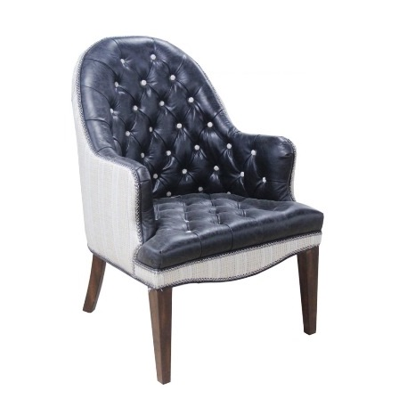 Tustin Chair - Leather HLS9701 and Fabric